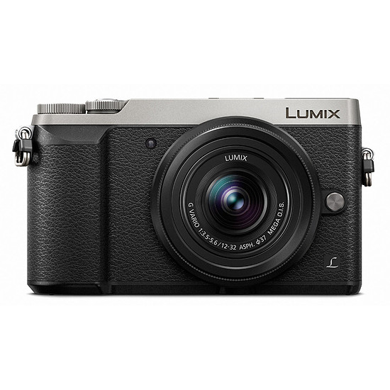 Appareil photo hybride Panasonic Lumix DMC-GX80 silver + 12-32 mm