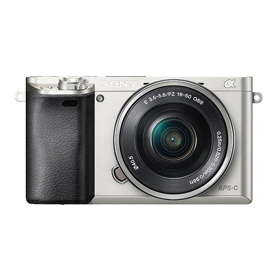 Appareil photo hybride Sony Alpha 6000 + 16-50 mm Silver