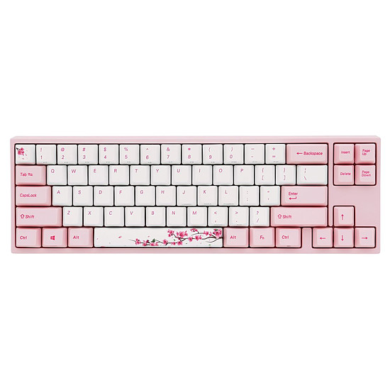 Clavier PC Ducky Channel x Varmilo MIYA Pro Sakura Edition - Cherry MX Blue
