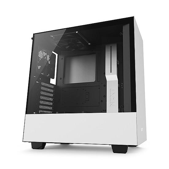 Boîtier PC NZXT H500 - Blanc + NZXT E650