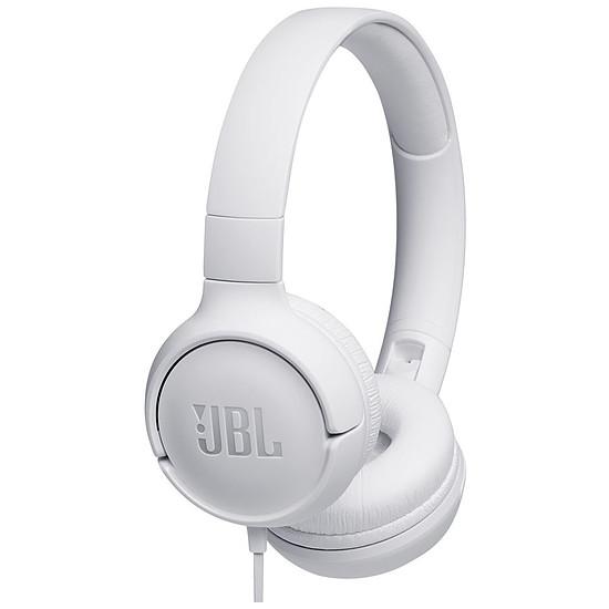 Casque Audio JBL TUNE 500 Blanc - Casque audio