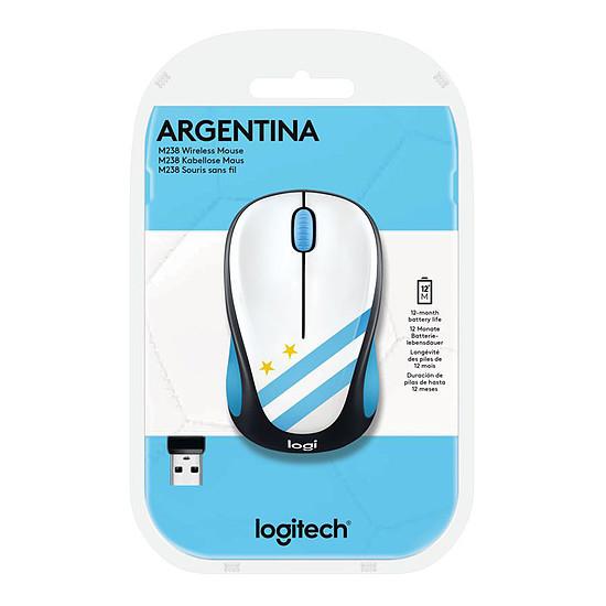 Souris PC Logitech M238 - Fan Collection Argentine - Autre vue