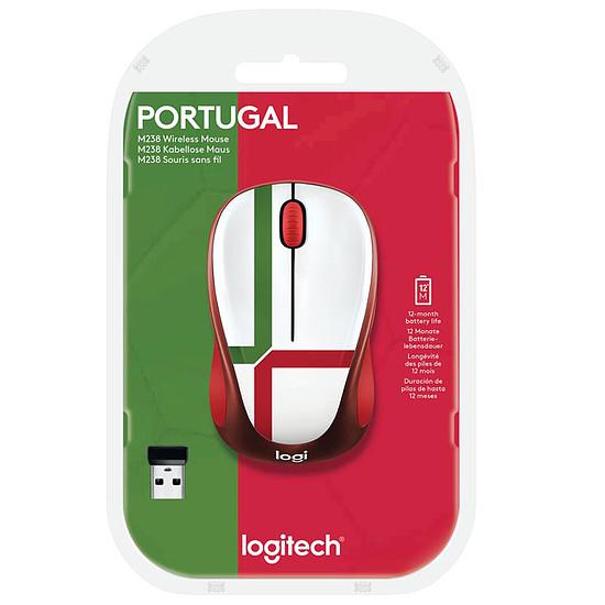 Souris PC Logitech M238 - Fan Collection Portugal - Autre vue