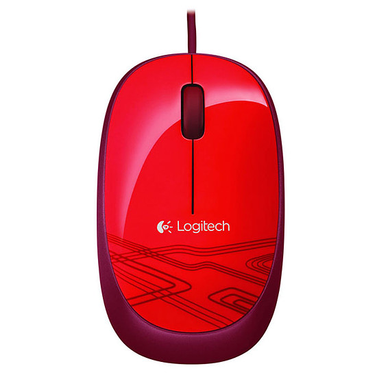 Souris PC Logitech M105 - Rouge
