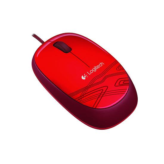 Souris PC Logitech M105 - Rouge - Autre vue