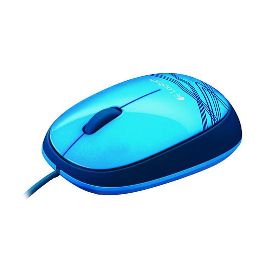 Souris PC Logitech M105 - Bleu - Autre vue