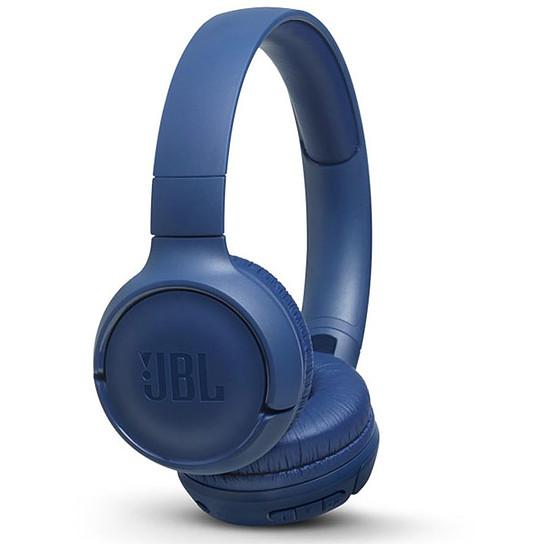 Casque Audio JBL TUNE 500BT Bleu - Casque sans fil