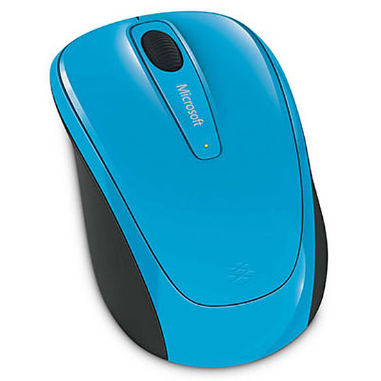 Souris PC Microsoft Wireless Mobile 3500 - Bleu - Autre vue