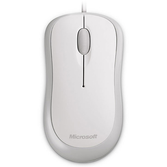 Souris PC Microsoft Basic Optical for Business - Blanc