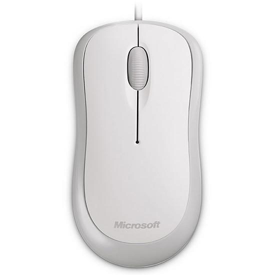 Souris PC Microsoft Basic Optical - Blanc