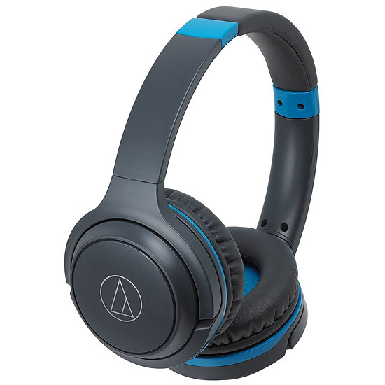 Casque Audio Audio-Technica ATH-S200BT Gris et Bleu