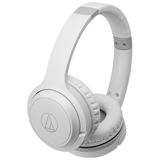 Casque Audio Audio-Technica ATH-S200BT Blanc - Casque sans fil