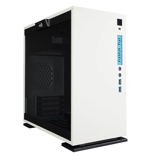 Boîtier PC In Win 301 Blanc + alimentation 450W 80PLUS Bronze