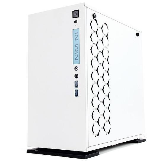 Boîtier PC In Win 301 Blanc + alimentation 450W 80PLUS Bronze - Autre vue