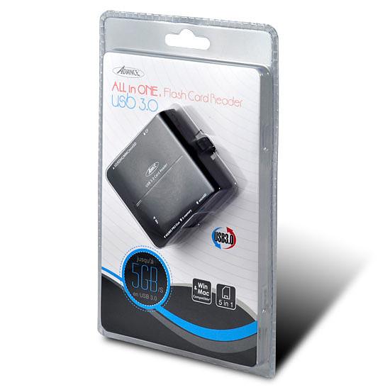 Lecteur de carte mémoire Advance CR-008U3 - Autre vue