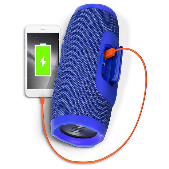 Enceinte sans fil JBL Charge 3 Bleu - Autre vue