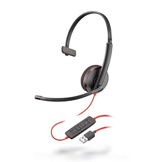 Casque micro Plantronics Blackwire C3210 USB-A