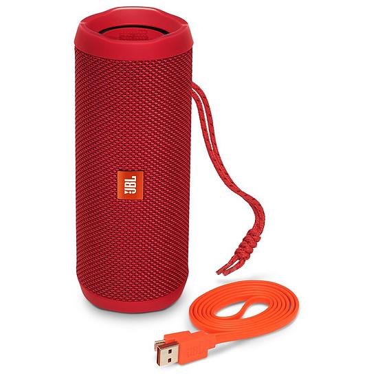 Enceinte sans fil JBL Flip 4 Rouge - Autre vue