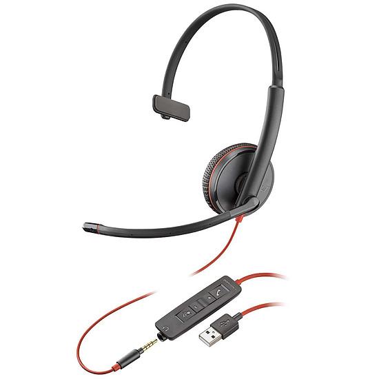 Casque micro Plantronics Blackwire C3215 USB-A