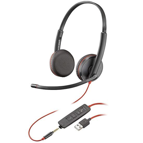 Casque micro Plantronics Blackwire C3225 USB-A