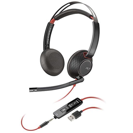 Casque micro Plantronics Blackwire C5220 USB-A