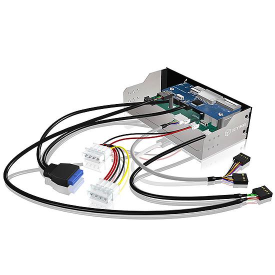 Lecteur de carte mémoire ICY BOX IB-863a-B - Autre vue
