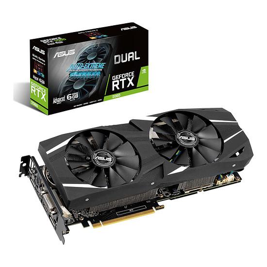 Carte graphique Asus GeForce RTX 2060 Dual A6G
