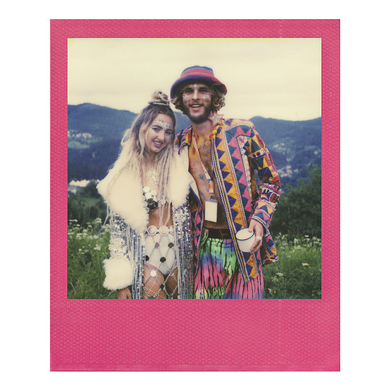 Accessoires Photo Polaroid Color 600 Film (cadres colorés) - Autre vue