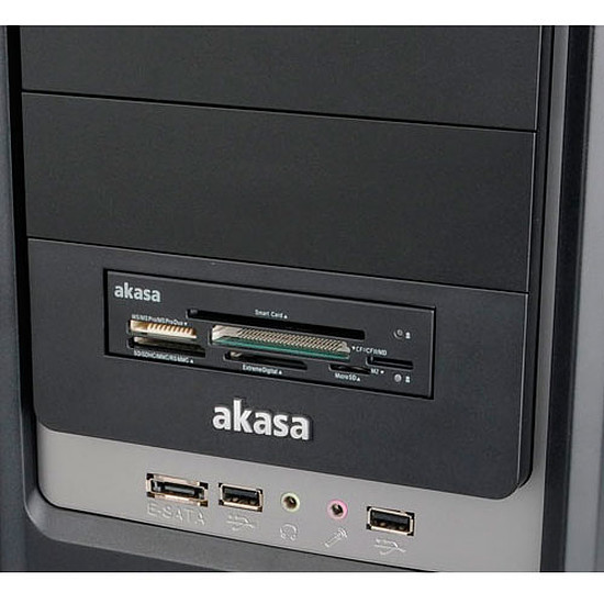 Lecteur de carte mémoire Akasa AK-ICR-09 - Autre vue