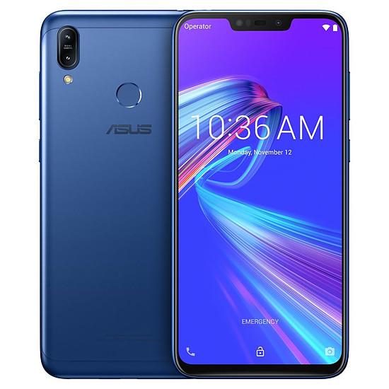 Smartphone et téléphone mobile Asus Zenfone Max M2 (bleu) - 32 Go - 4 Go