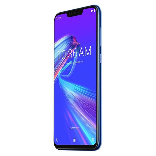 Smartphone et téléphone mobile Asus Zenfone Max M2 (bleu) - 32 Go - 4 Go - Autre vue