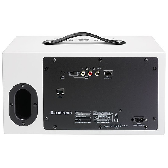 Enceinte sans fil Audio Pro Addon C10 Blanc - Enceinte compacte - Autre vue