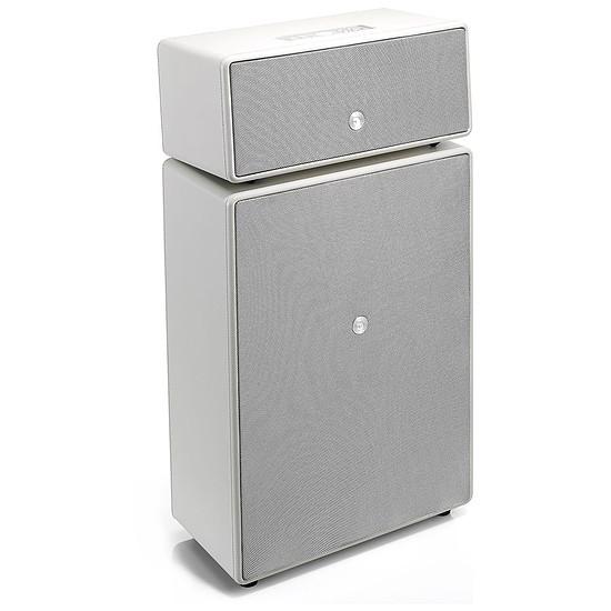 Enceinte sans fil Audio Pro Drumfire Blanc - Enceinte