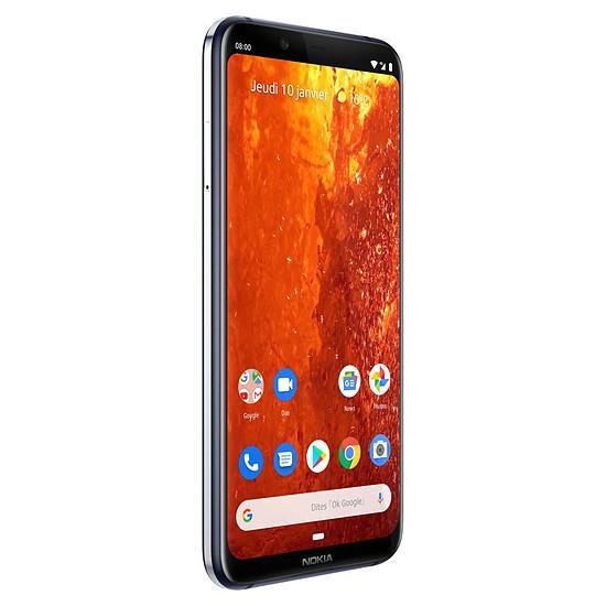Smartphone et téléphone mobile Nokia 8.1 (bleu) - 64 Go - 4 Go