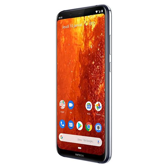 Smartphone et téléphone mobile Nokia 8.1 (bleu) - 64 Go - 4 Go - Autre vue