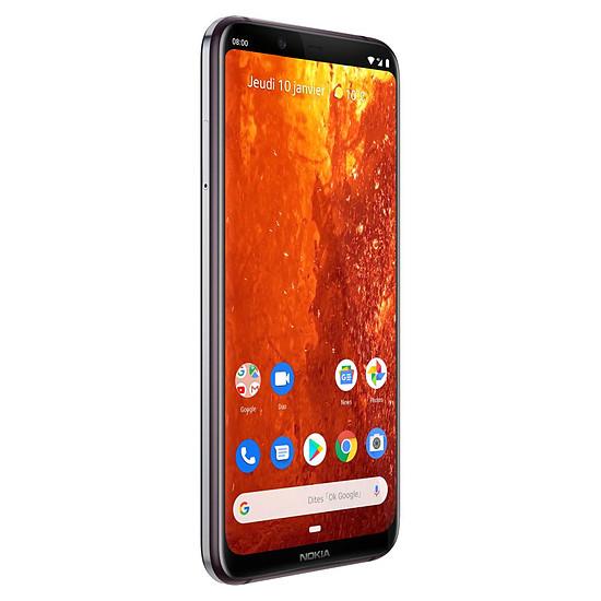 Smartphone et téléphone mobile Nokia 8.1 (acier) - 64 Go - 4 Go