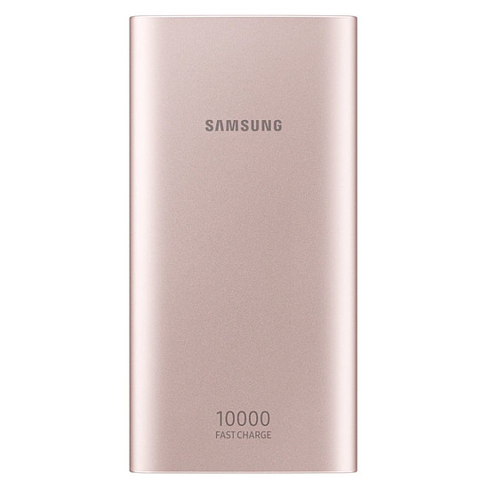 Batterie et powerbank Samsung Batterie externe charge rapide (or rose) - 10000 mAh - Micro USB