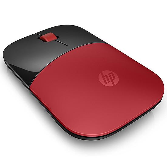 Souris PC HP Z3700 - Rouge - Autre vue