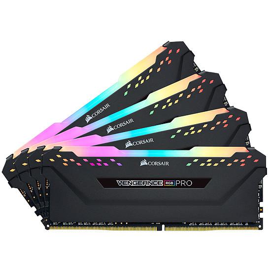 Mémoire Corsair Vengeance RGB PRO DDR4 4 x 8 Go 3000 MHz CAS 15