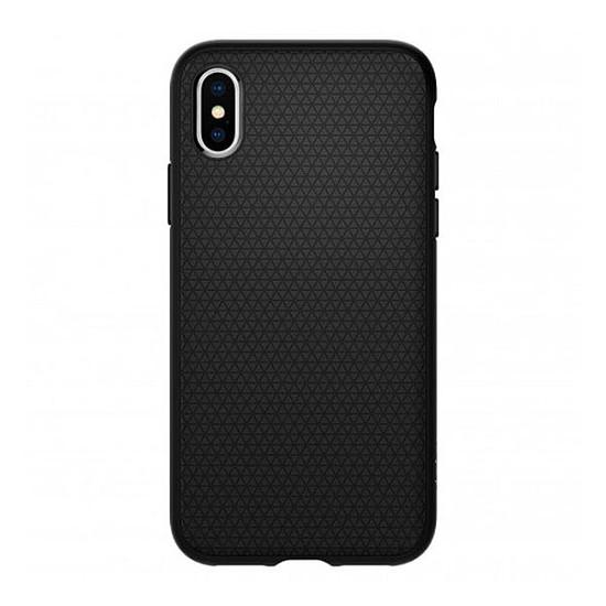 Coque et housse Spigen Coque Liquid Air (noir) - iPhone XS - iPhone X - Autre vue
