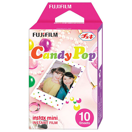 Accessoires Photo Fujifilm instax mini Monopack Candy Pop