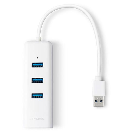Carte réseau TP-Link UE330 - Adaptateur USB 3.0 vers Gigabit + Hub - Autre vue