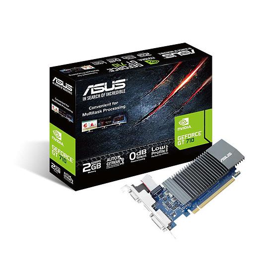 Carte graphique Asus GeForce GT 710 - 2 Go Passive