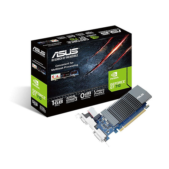 Carte graphique Asus GeForce GT 710 BRK - 1 Go Passive