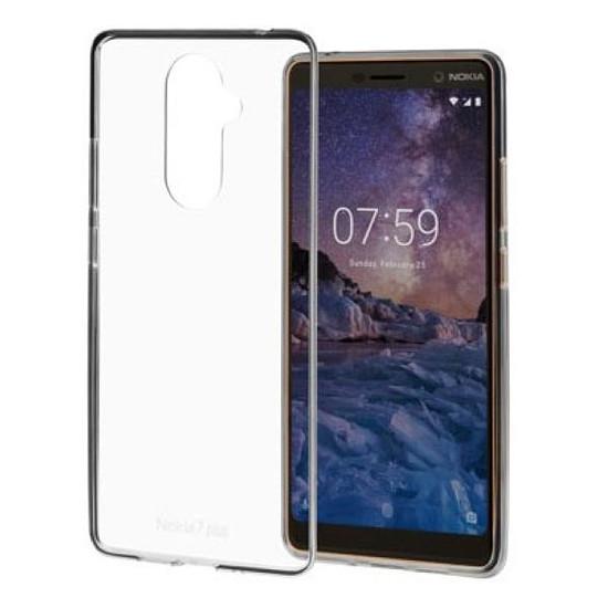 Coque et housse Nokia Coque (transparent) - Nokia 7.1