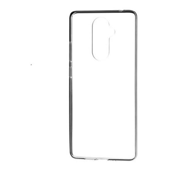 Coque et housse Nokia Coque (transparent) - Nokia 7.1 - Autre vue