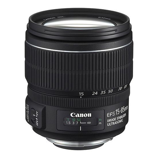 Objectif pour appareil photo Canon EF-S 15-85mm f/3,5-5,6 IS USM