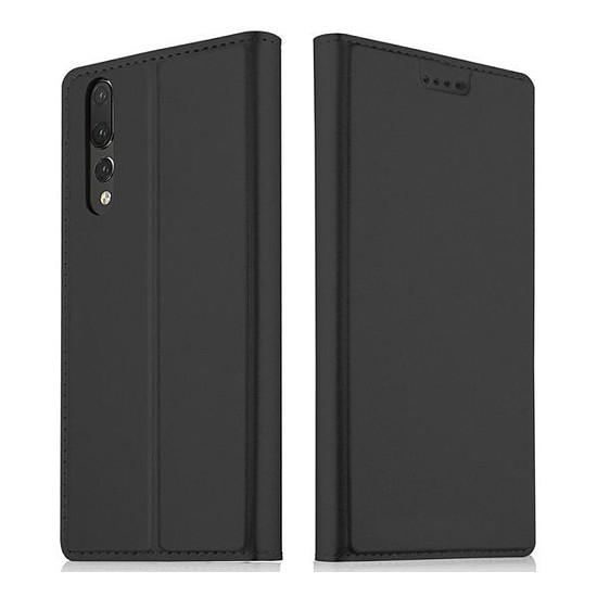 Coque et housse Akashi Etui folio (noir) - Huawei P20 Pro
