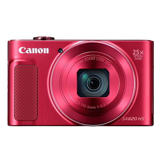 Appareil photo compact ou bridge Canon PowerShot SX620 HS Rouge