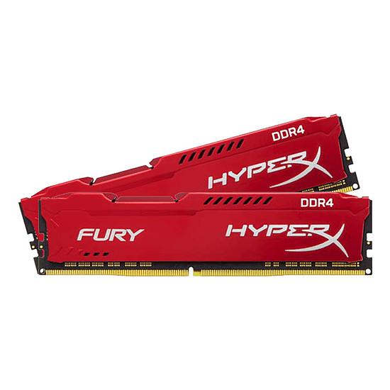 Mémoire HyperX Fury Red DDR4 2 x 8 Go 2933 MHz CAS 17